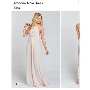 Show Me Your Mumu blush dress